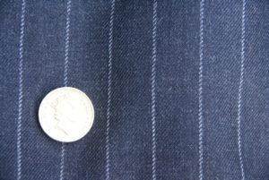 Grey chalk / pin stripe