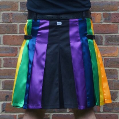 LGB gay rainbow kilt