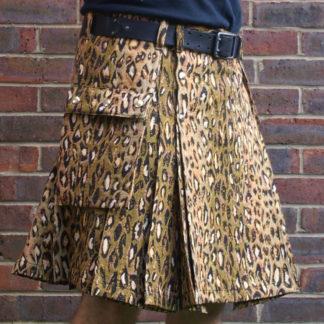 Leopard Tapestry Kilt