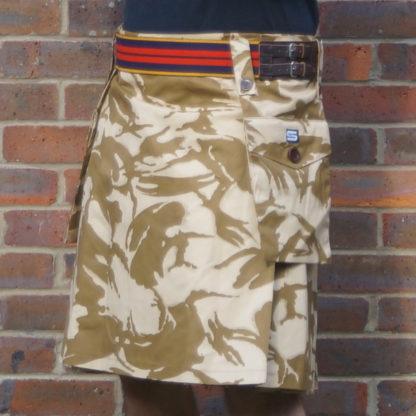 Desert DPM Camouflage Combat Kilt