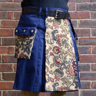 Tapestry apron kilt
