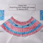 Royal Engineers kilt design
