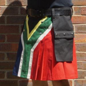 South African flag kilt