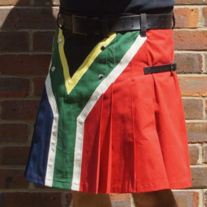 South African flag kilt