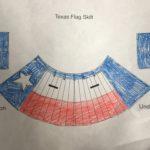 Texas kilt design