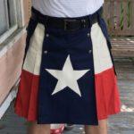 Lone Star Texas kilt