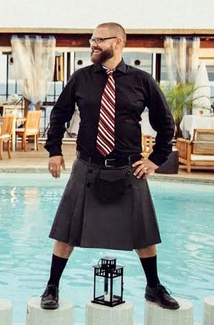 Button up kilt