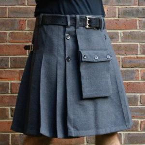 Grey kilt